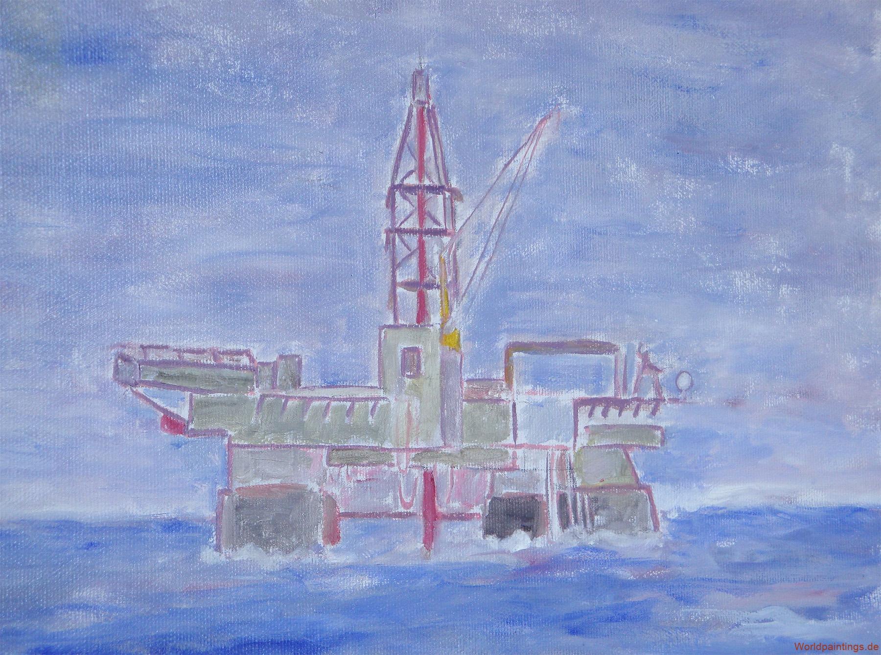Bohrinsel Deepwater Horizon