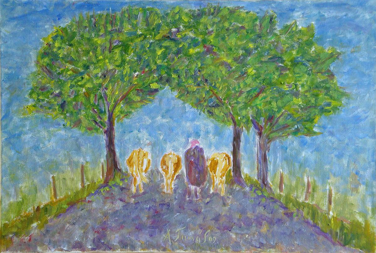 Viehtrieb im Herbst • Allgäu