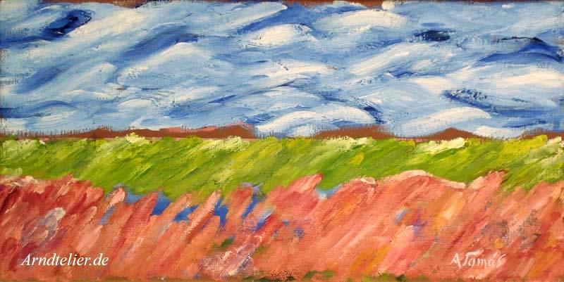 Landschaft am Meer II