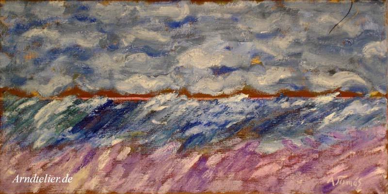 Landschaft am Meer VI