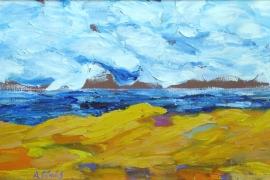 Landschaft am Meer III