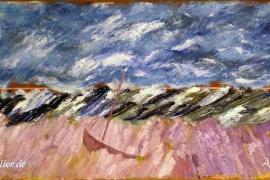 Landschaft am Meer IV