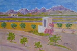Landschaft bei Teulada