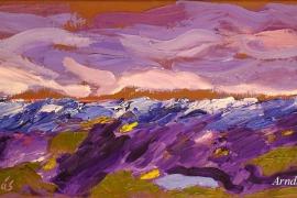 Lavendel am Meer