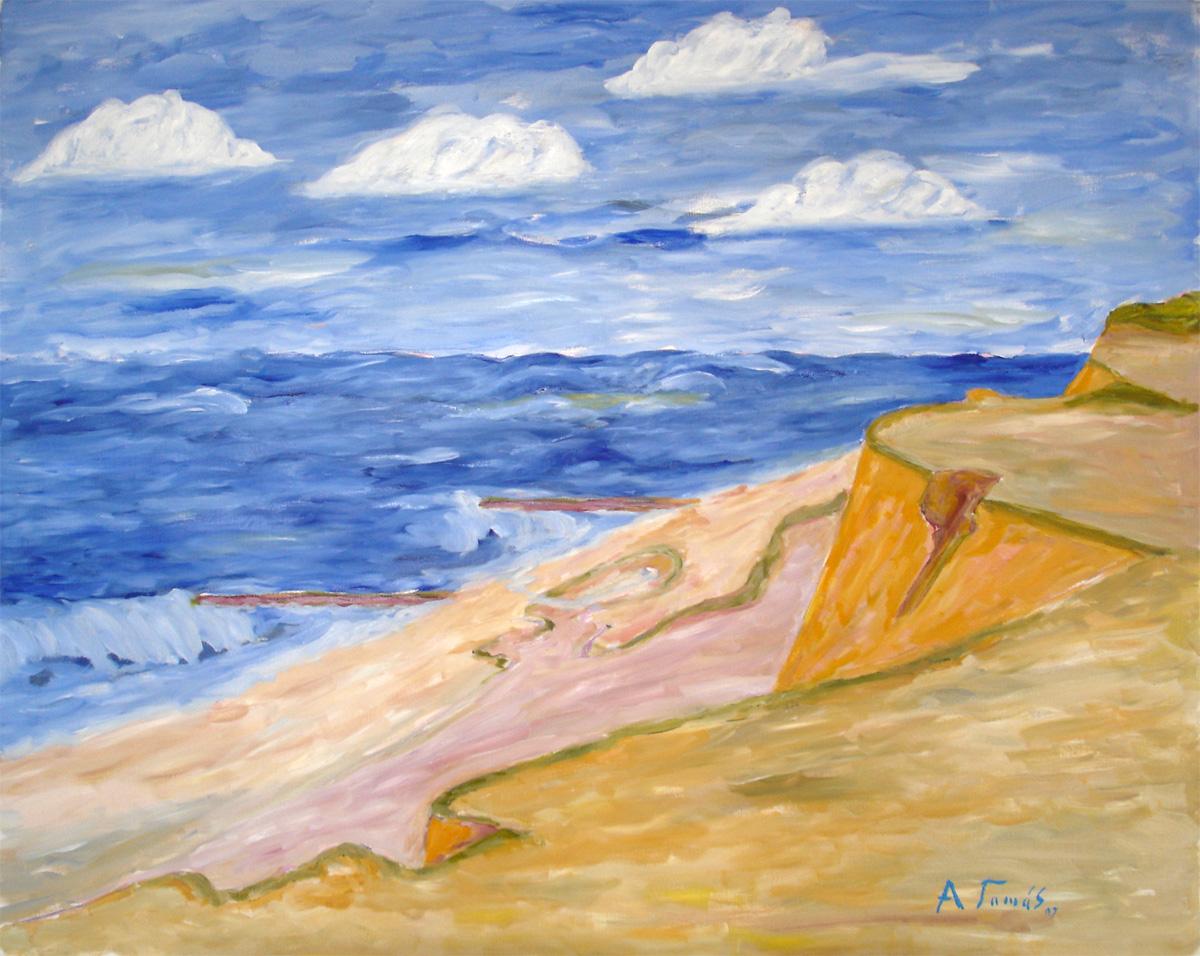 Das rote Kliff • Sylt