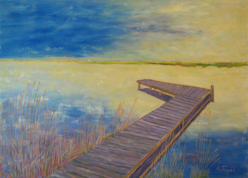 Selbstbesinnung • Sylt - Ölmalerei von Arndt Tomás